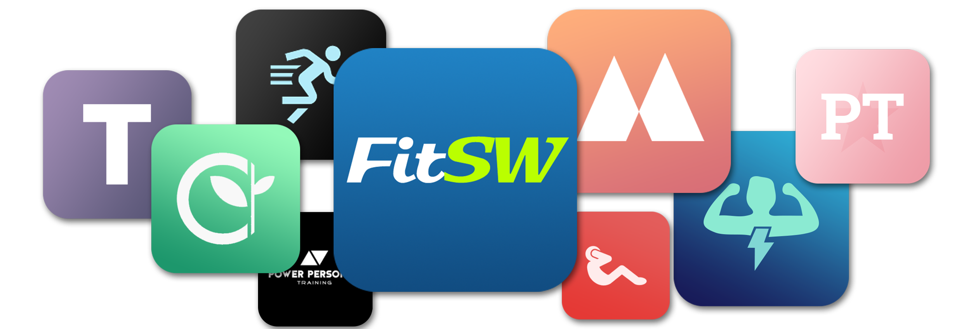 Personal Trainer Software Custom Branded Fitness App Custom Logo Options for Fitness Coaching Business.