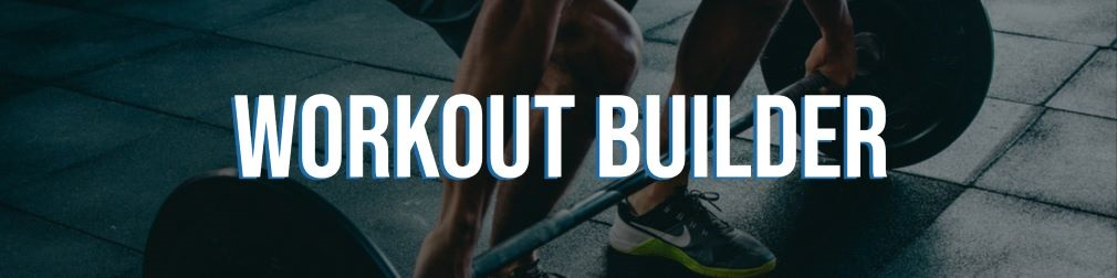 Online workout builder for personal trainers.