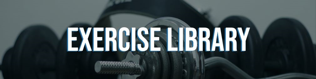 Personal Trainer Software Exercise Library.