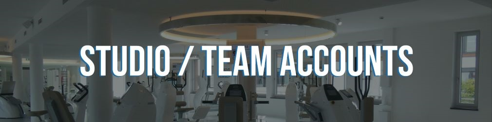Personal Trainer Software Studio Team Accounts.
