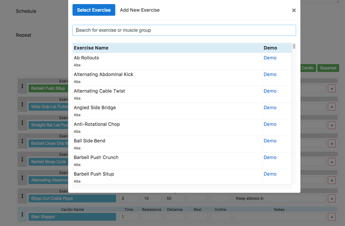 New Online Workout Creator Features Fitsw Blog