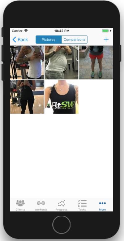 Fitness Progress Photo Comparison Picture Library