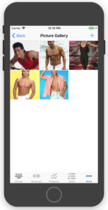 Take And Store Fitness Progress Pictures In App Gallery
