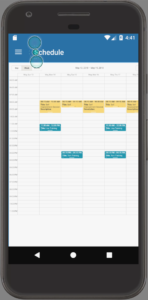 Android App For Personal Trainers Schedule
